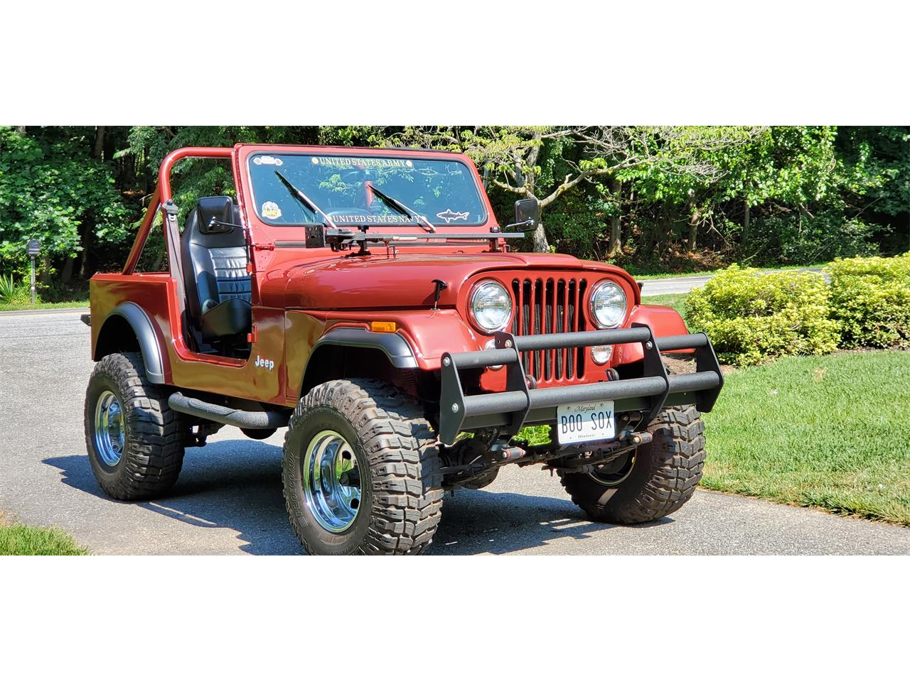 1985 Jeep CJ7 (CC-1362587) for sale in Gaithersburg, Maryland