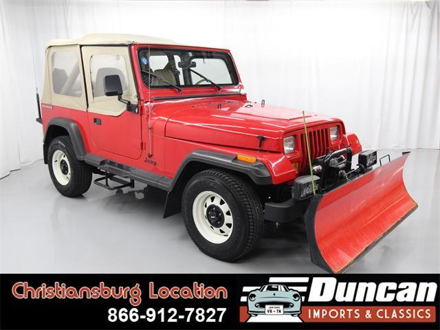 1989 Jeep Wrangler (CC-1362637) for sale in Christiansburg, Virginia