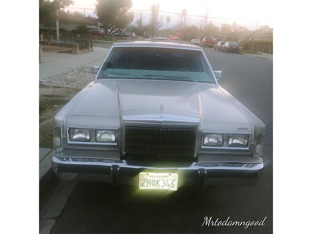1988 Lincoln Town Car (CC-1362831) for sale in Ontario, California