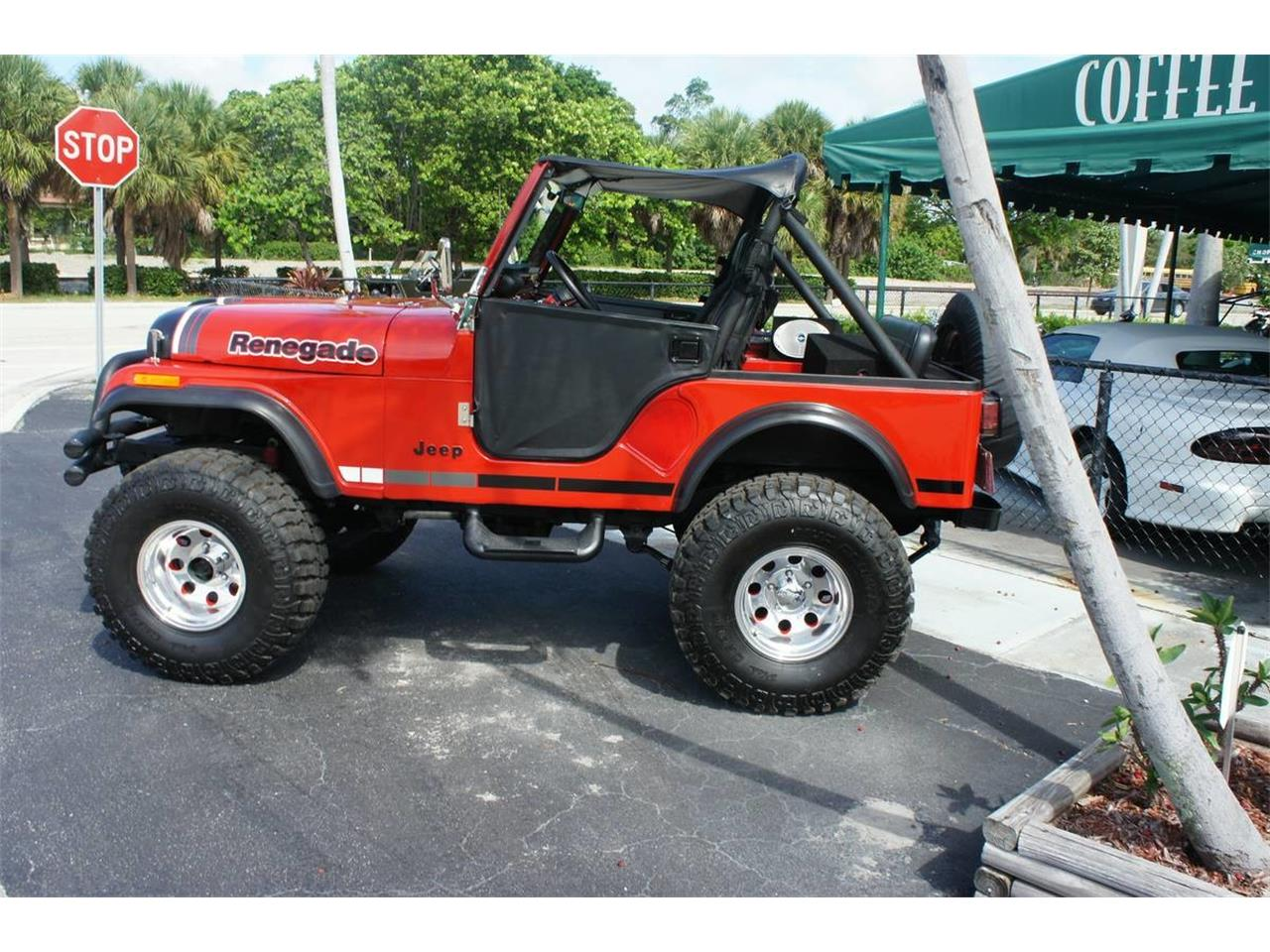 1981 Jeep CJ (CC-1360292) for sale in Lantana, Florida