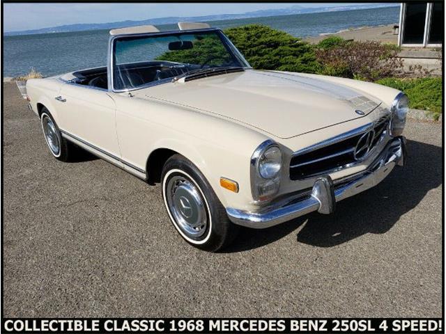 1968 Mercedes-Benz 250SL (CC-1362928) for sale in Cadillac, Michigan