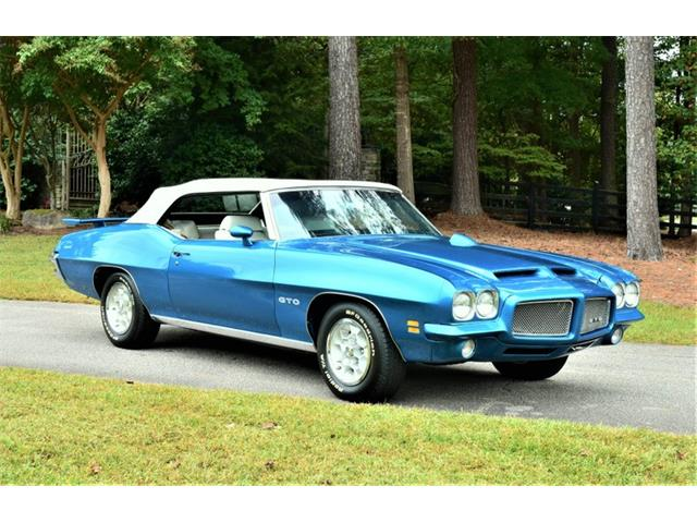 1971 Pontiac GTO (CC-1363122) for sale in Youngville, North Carolina