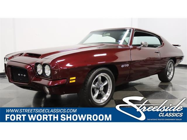 1971 Pontiac GTO (CC-1363272) for sale in Ft Worth, Texas