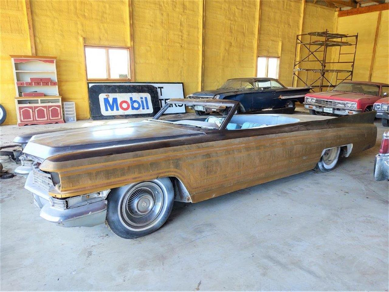 1963 Cadillac 2-Dr Convertible (CC-1363396) for sale in Parkers Prairie, Minnesota