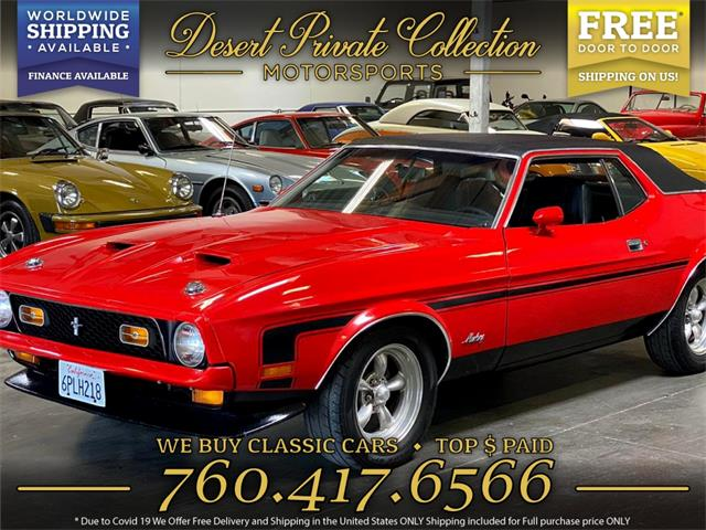 1971 Ford Mustang (CC-1363417) for sale in Palm Desert , California