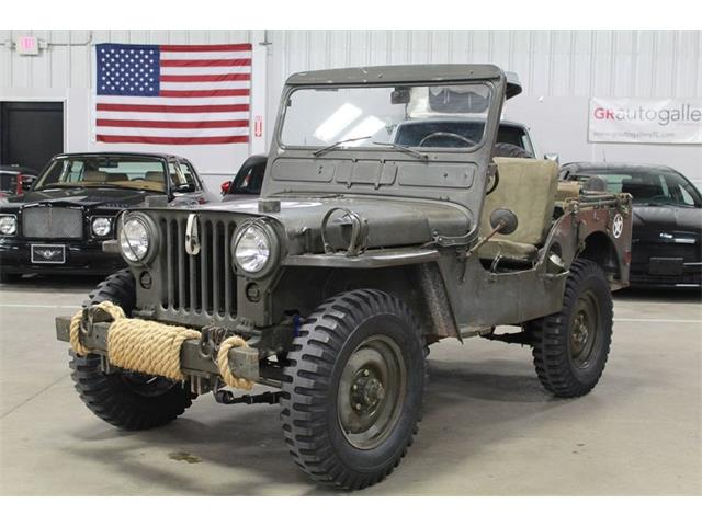 1952 Willys Jeep (CC-1363570) for sale in Kentwood, Michigan