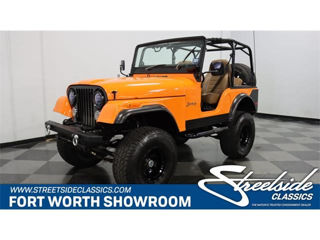 1972 Jeep CJ5 (CC-1363573) for sale in Ft Worth, Texas