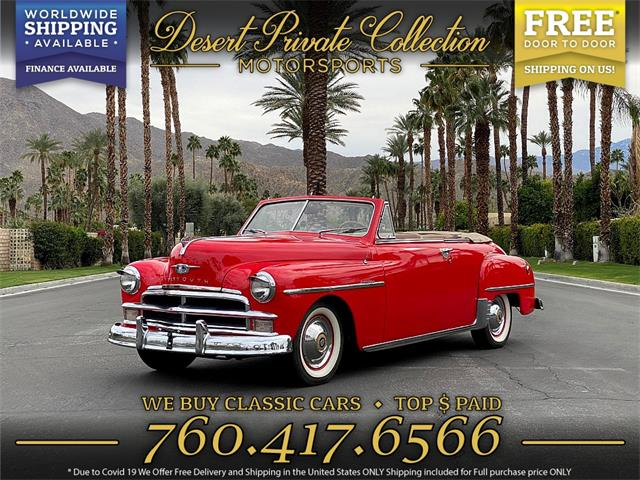 1950 Plymouth Special Deluxe (CC-1363713) for sale in Palm Desert , California