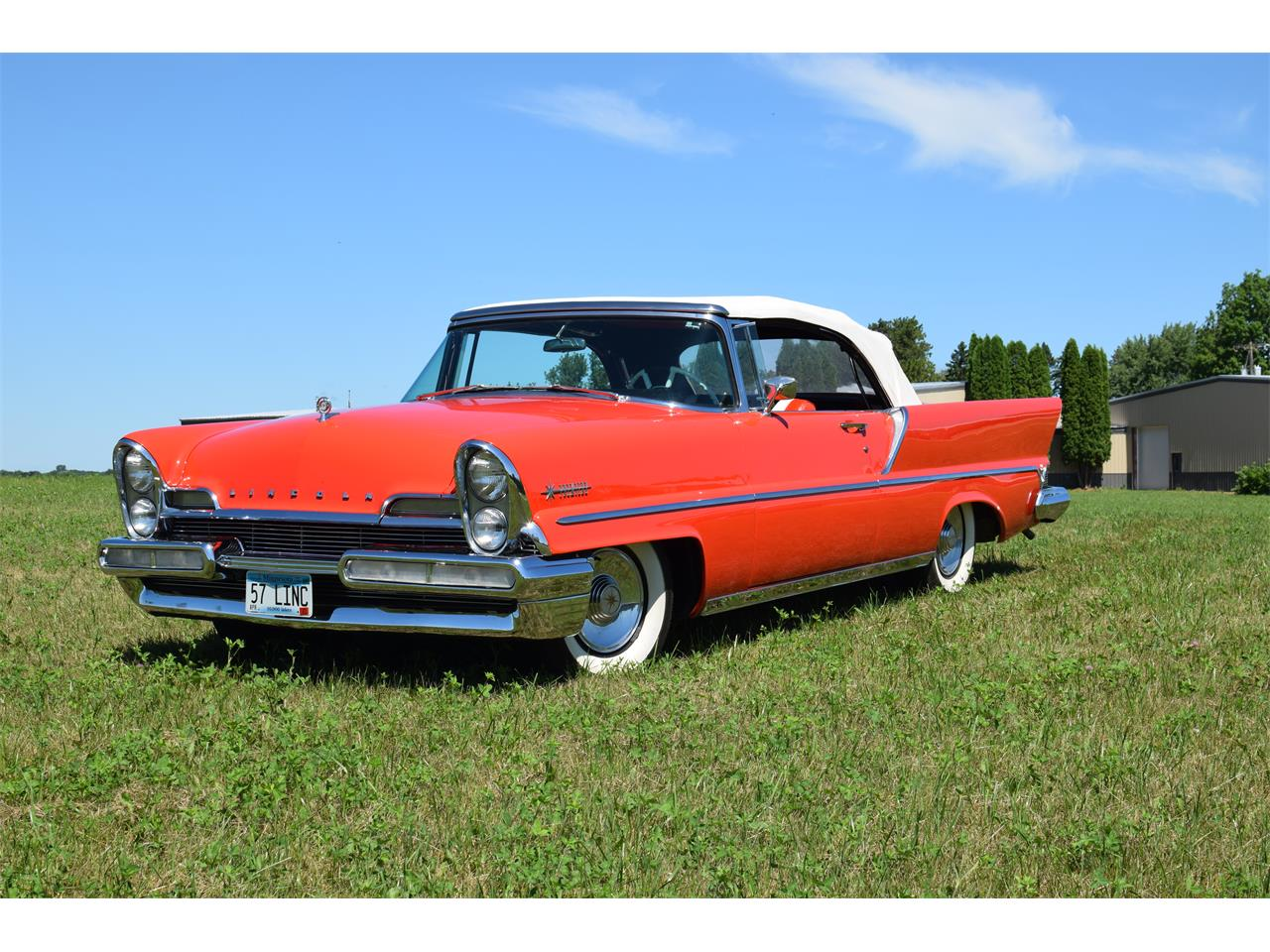1957 Lincoln Convertible (CC-1363803) for sale in Watertown, Minnesota