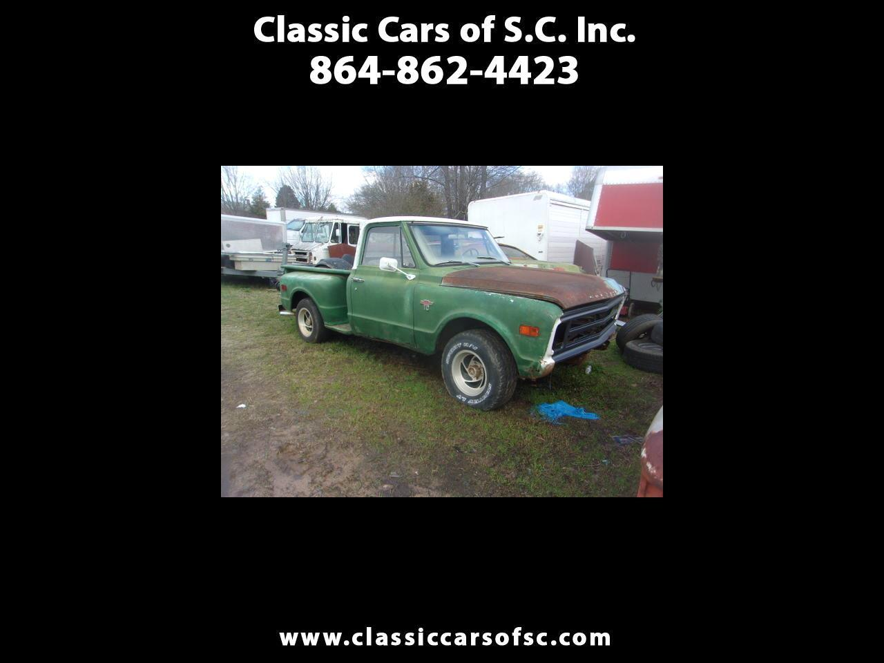 1968 Chevrolet C10 (CC-1363901) for sale in Gray Court, South Carolina