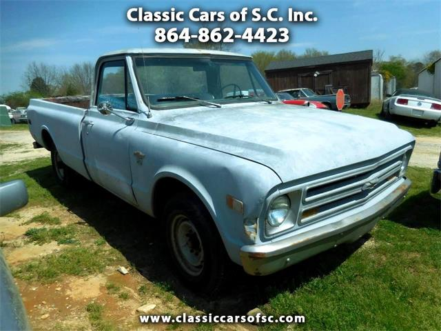1968 Chevrolet C/K 20 (CC-1363903) for sale in Gray Court, South Carolina