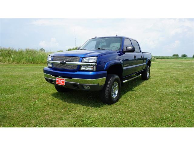 2004 Chevrolet Silverado (CC-1363915) for sale in Clarence, Iowa