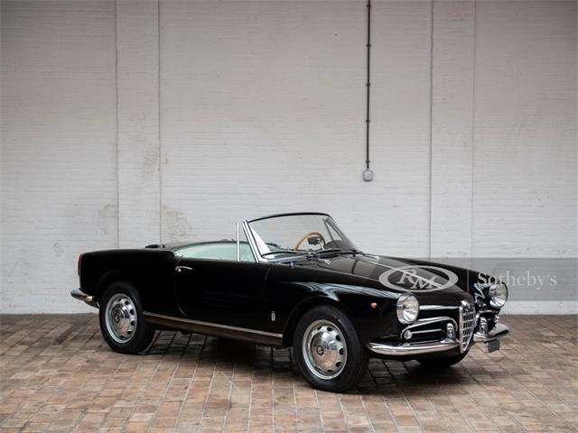 1962 Alfa Romeo Giulietta Spider (CC-1363938) for sale in London, United Kingdom