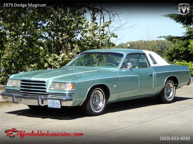 1979 Dodge Magnum (CC-1363949) for sale in Gladstone, Oregon