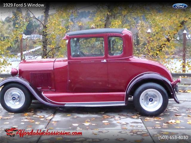 1929 Ford 5-Window Coupe (CC-1363952) for sale in Gladstone, Oregon