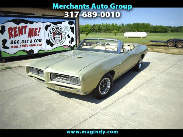 1968 Pontiac GTO (CC-1364040) for sale in Cicero, Indiana