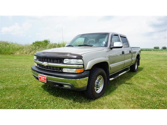 2002 Chevrolet Silverado (CC-1364154) for sale in Clarence, Iowa
