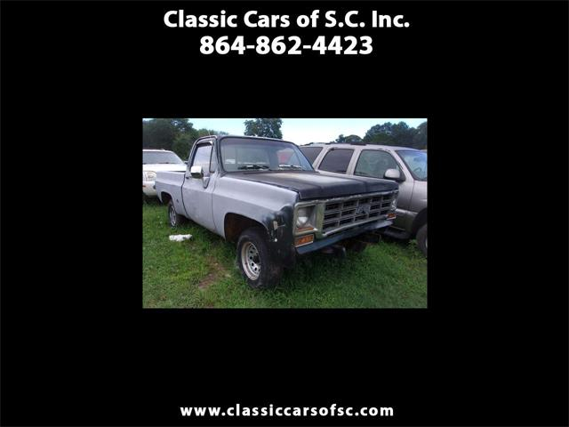 1976 Chevrolet C10 (CC-1364297) for sale in Gray Court, South Carolina