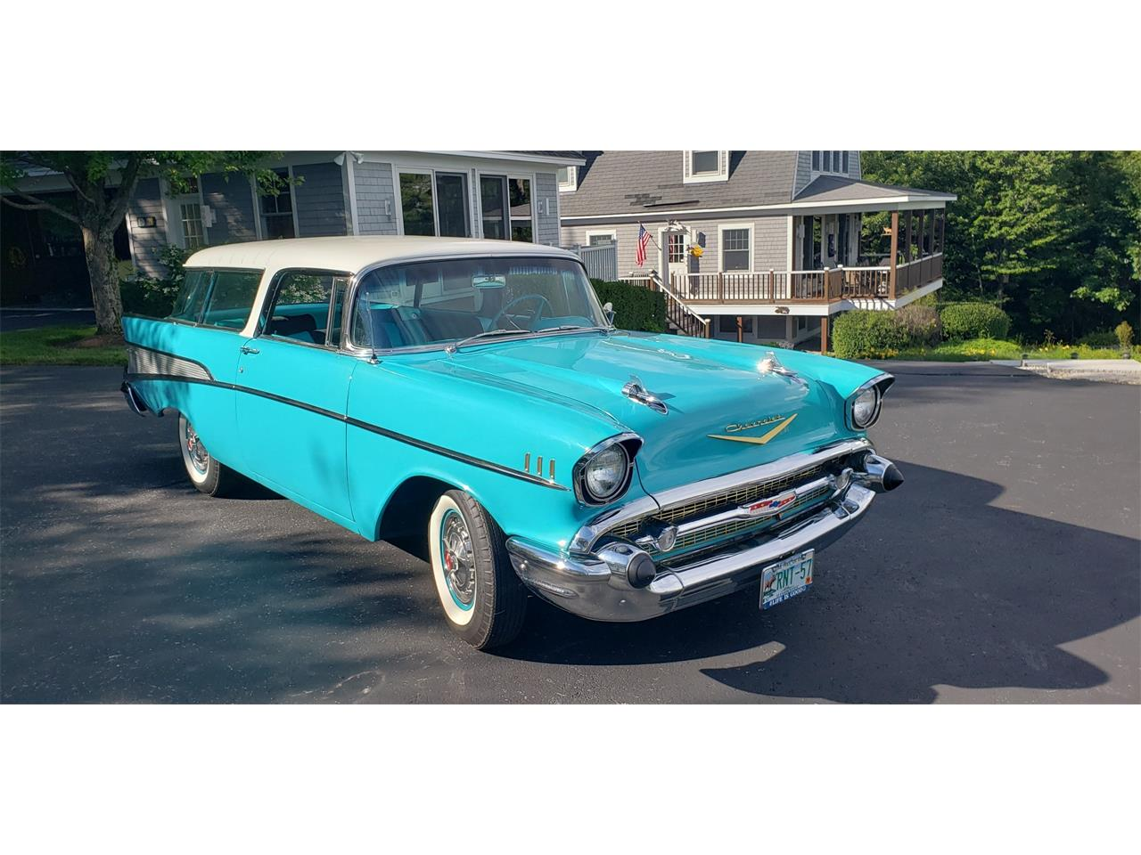 1957 Chevrolet Bel Air Nomad (CC-1364391) for sale in SUNAPEE, New Hampshire