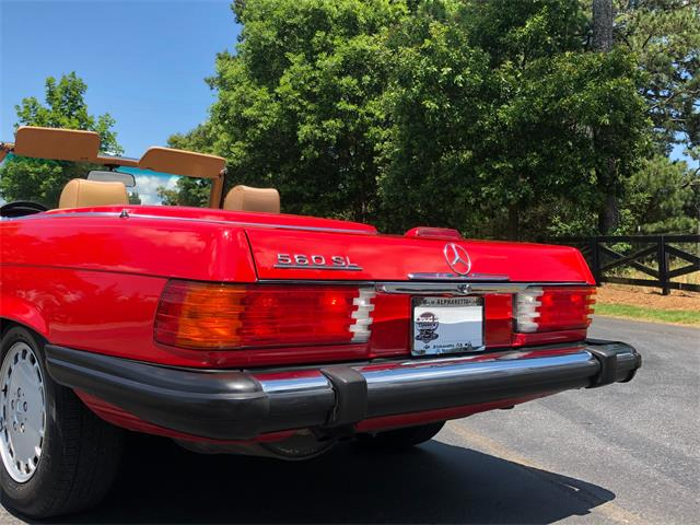 1988 Mercedes-Benz 560SL (CC-1364416) for sale in Alpharetta, Georgia