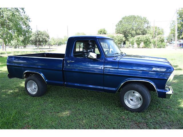 1967 Ford F100 (CC-1364630) for sale in Victoria , Texas