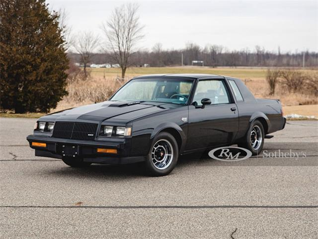 1987 Buick Grand National (CC-1364760) for sale in Auburn, Indiana