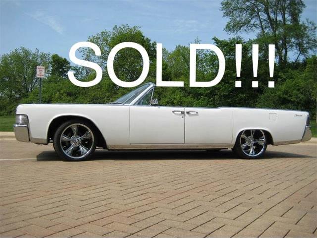 1965 Lincoln Continental (CC-1364783) for sale in Geneva, Illinois