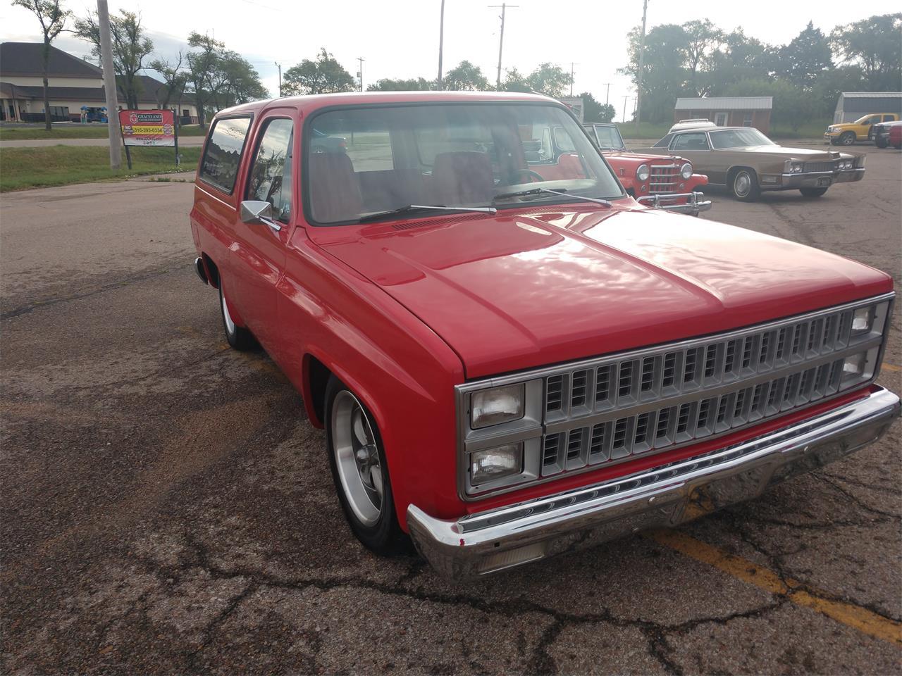 1981 Chevrolet Blazer (CC-1364905) for sale in Benton, Kansas
