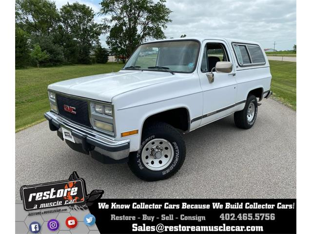 1991 GMC Jimmy (CC-1365090) for sale in Lincoln, Nebraska