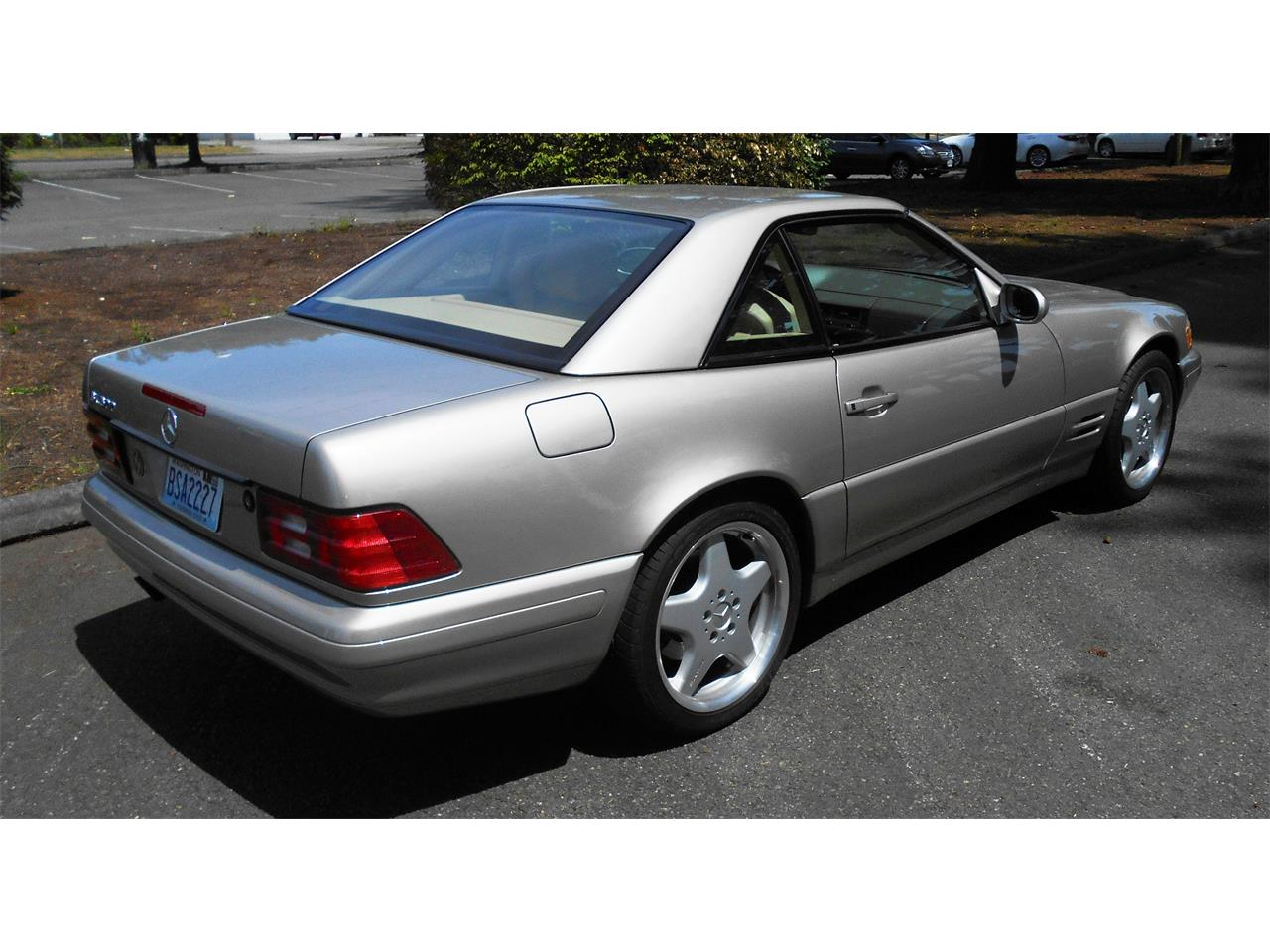 1999 Mercedes-Benz SL500 (CC-1360052) for sale in Tacoma, Washington