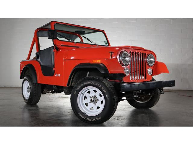1979 Jeep CJ5 (CC-1365537) for sale in Jackson, Mississippi