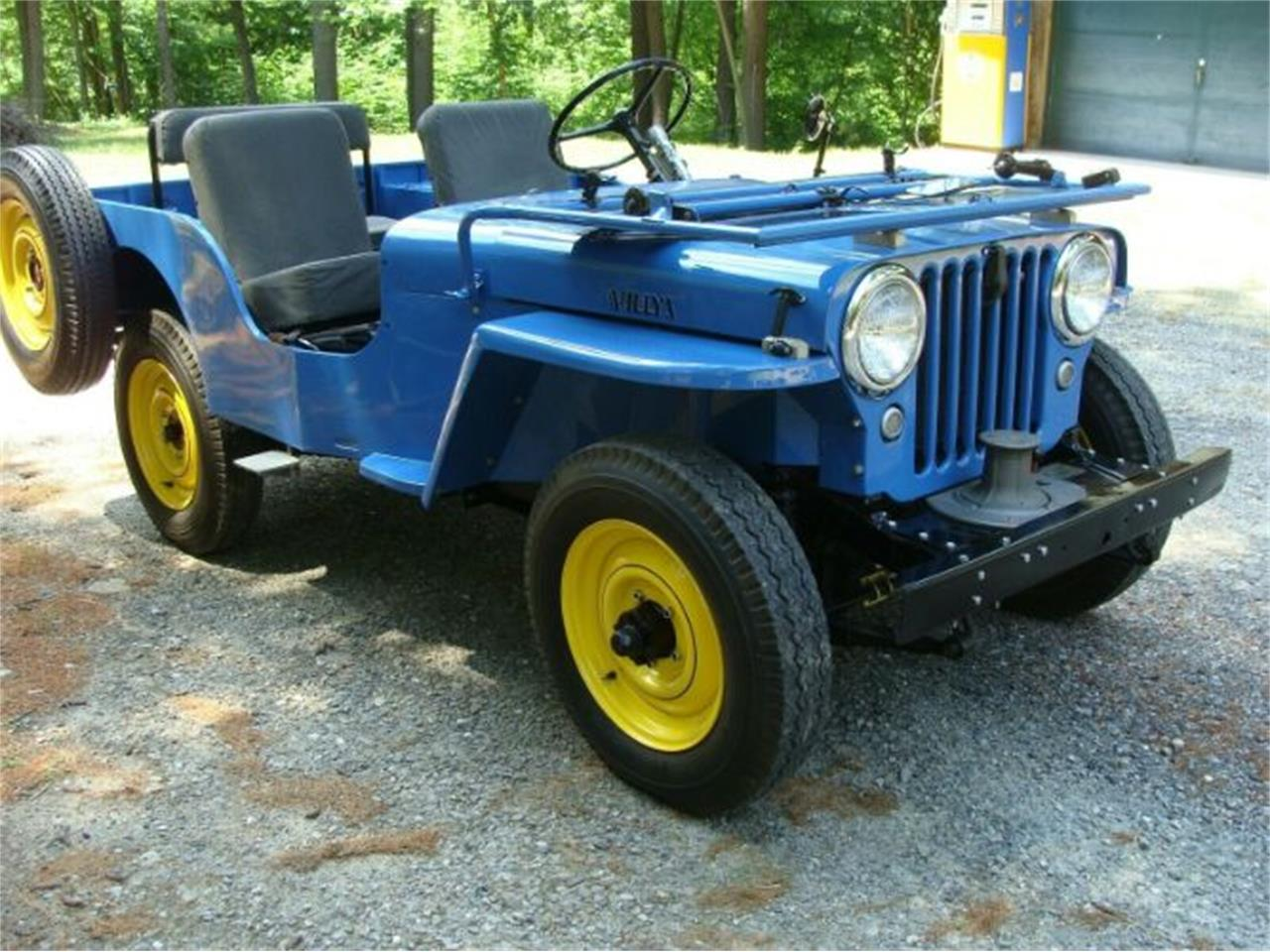 1946 Willys CJ2A (CC-1365665) for sale in Cadillac, Michigan