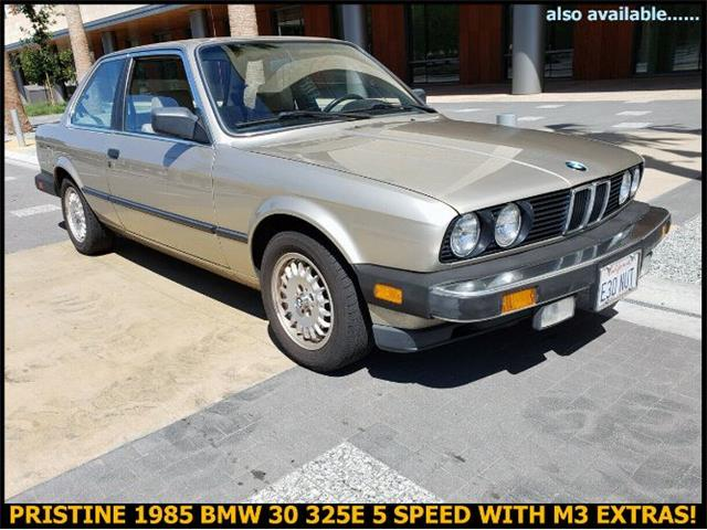 1985 BMW 325 (CC-1365796) for sale in Cadillac, Michigan