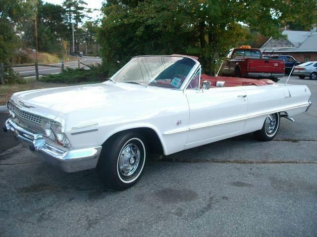 1963 Chevrolet Impala SS (CC-1365870) for sale in Westford, Massachusetts