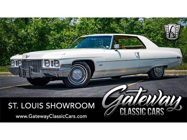 1972 Cadillac Calais (CC-1365957) for sale in O'Fallon, Illinois