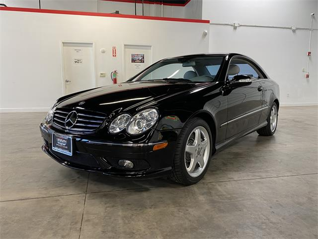 2004 Mercedes-Benz CLK500