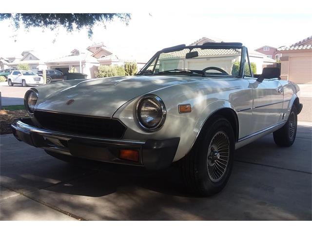 1979 Fiat 124 Spider 2000 (CC-1366009) for sale in Phoenix , Arizona
