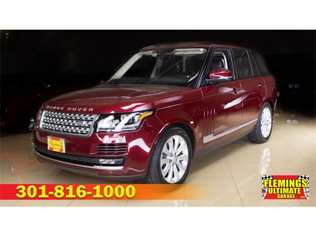 2016 Land Rover Range Rover (CC-1366134) for sale in Rockville, Maryland