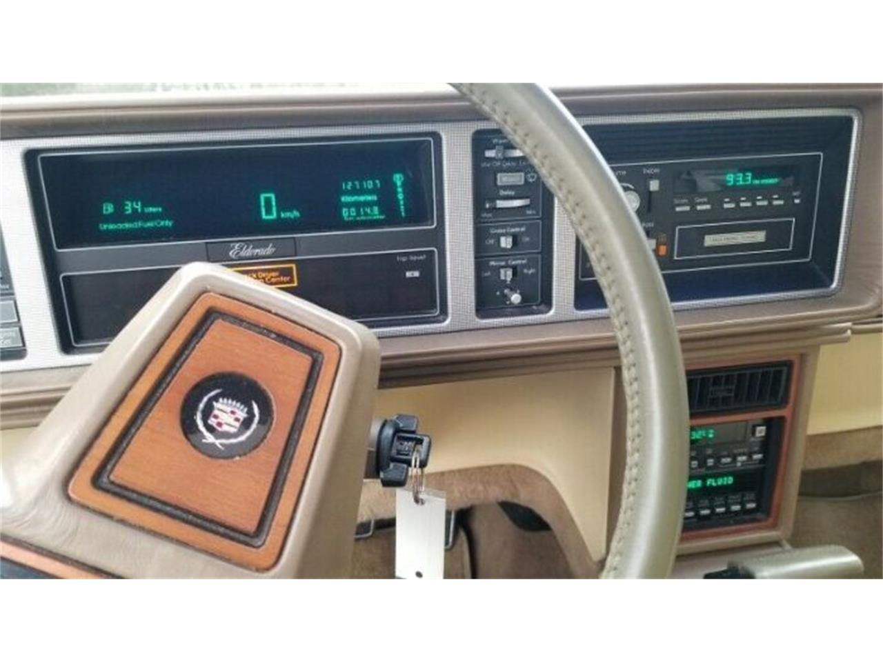 1986 Cadillac Eldorado (CC-1366268) for sale in Cadillac, Michigan