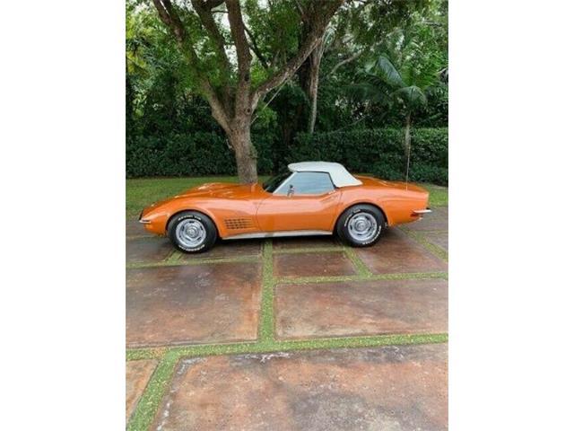 1971 Chevrolet Corvette (CC-1366271) for sale in Cadillac, Michigan