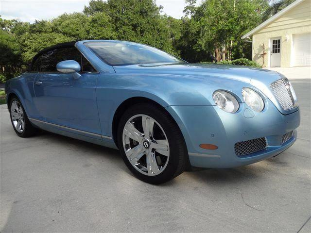 2007 Bentley Continental GTC (CC-1366325) for sale in Sarasota, Florida