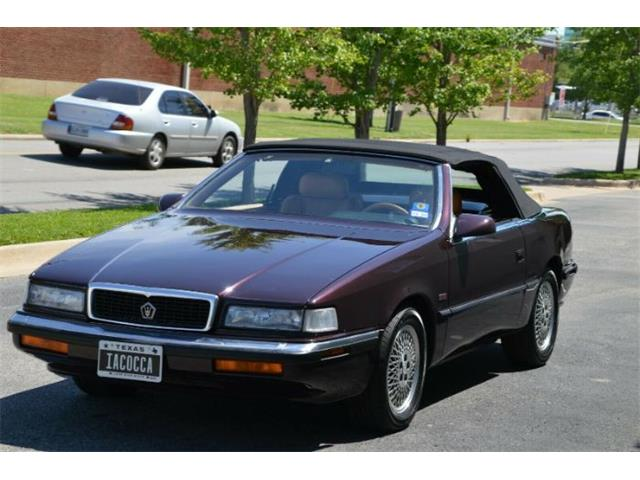 1989 Chrysler TC by Maserati (CC-1360673) for sale in Cadillac, Michigan