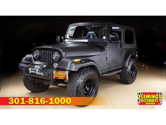 1986 Jeep CJ7 (CC-1360777) for sale in Rockville, Maryland