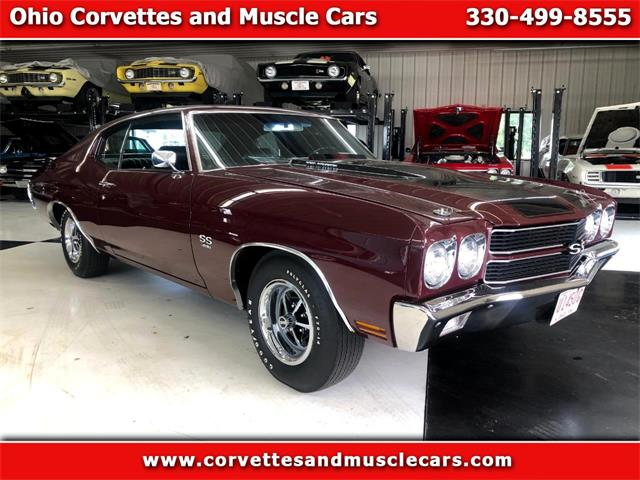 1970 Chevrolet Chevelle (CC-1368030) for sale in North Canton, Ohio