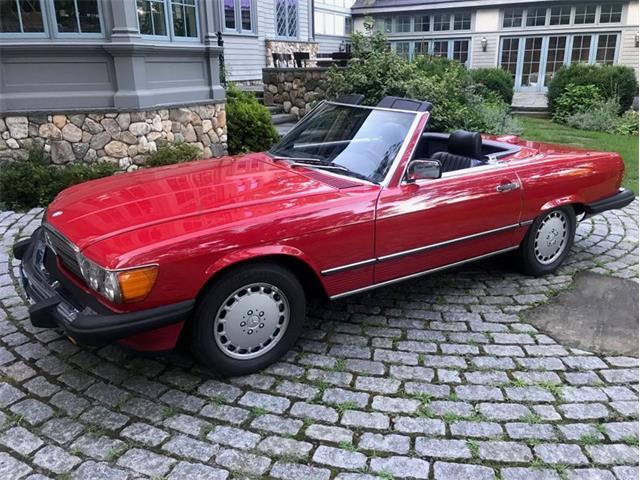 1987 Mercedes-Benz 560SL (CC-1368133) for sale in Jacksonville, Florida