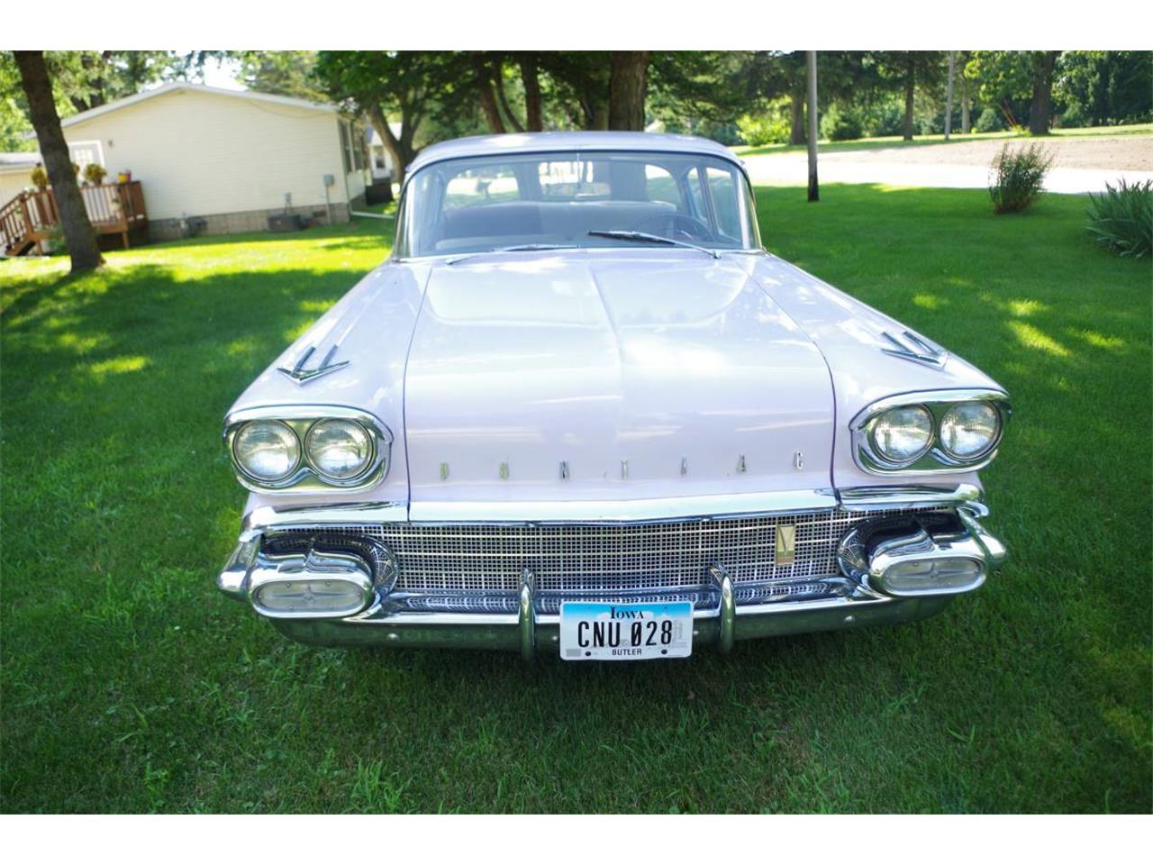 1958 Pontiac Chieftain (CC-1368192) for sale in Shell Rock, Iowa