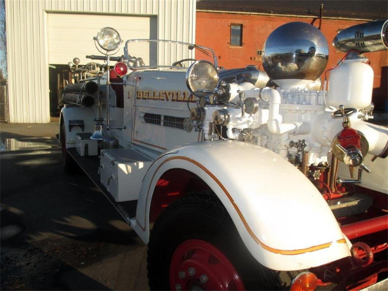 1939 Ahrens-Fox Fire Truck (CC-1368251) for sale in Providence, Rhode Island