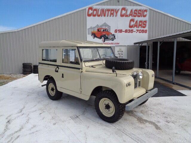 1967 Land Rover Series IIA (CC-1368345) for sale in Staunton, Illinois