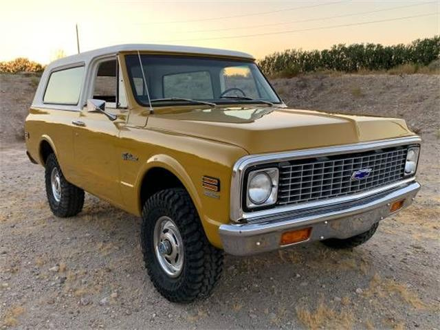 1972 Chevrolet Blazer (CC-1368405) for sale in Cadillac, Michigan