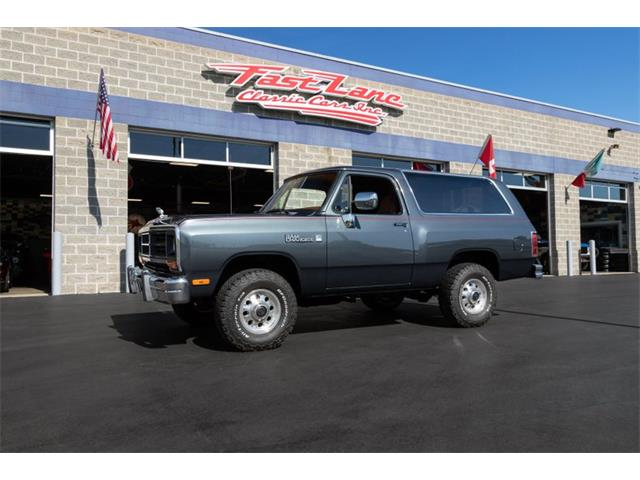 1988 Dodge Ramcharger (CC-1368760) for sale in St. Charles, Missouri